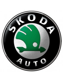 Boot lid key locks Skoda Fabia