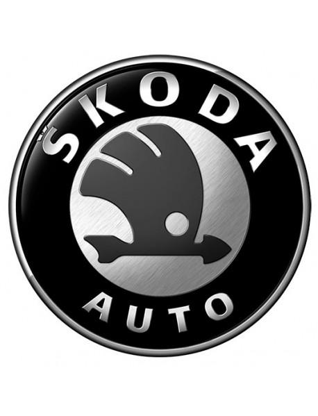 Boot lid key locks Skoda Fabia